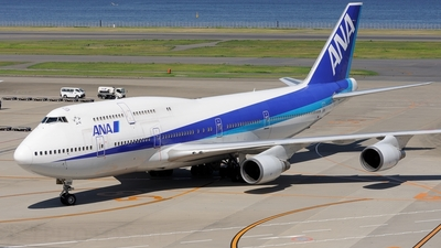 JA8966 - Boeing 747-481D - All Nippon Airways (ANA)