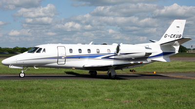 G-CKUB - Cessna 560XL Citation XLS Plus - Private