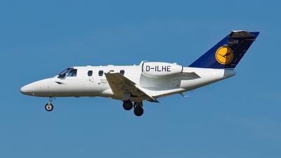 D-ILHE - Cessna 525 CitationJet 1 - European Flight Academy