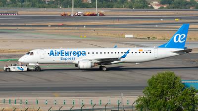 A picture of ECKYP - Embraer E195LR - [19000281] - © Enrique Rubira