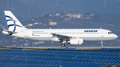 A picture of SXDVX - Airbus A320232 - Aegean Airlines - © Kostas Marmarelis