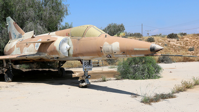 886 - IAI Kfir C2 - Israel - Air Force