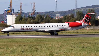 G-SAJC - Embraer ERJ-145EP - Loganair