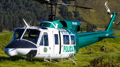 PNC-0497 - Bell 212 - Colombia - Police