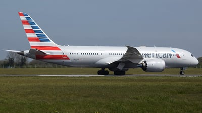 A picture of N802AN - Boeing 7878 Dreamliner - American Airlines - © John Fitzpatrick