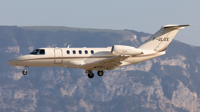 F-GLUX - Cessna 525 Citation CJ4 - Private