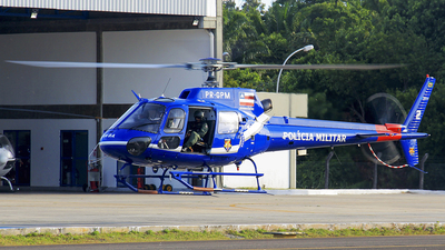 PR-GPM - Helibrás AS-350B3 Esquilo - Brazil - Military Police of Bahia State