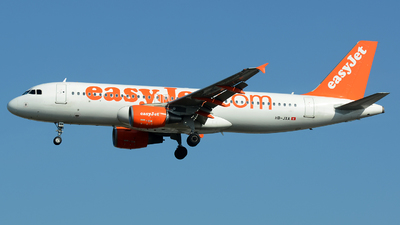 HB-JXA - Airbus A320-214 - easyJet Switzerland