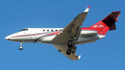 A picture of 5NSPL - Hawker 850XP - [258984] - © Alexander Portas
