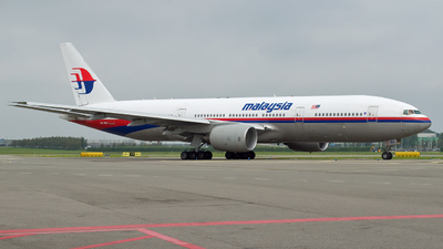 9M-MRJ - Boeing 777-2H6(ER) - Malaysia Airlines