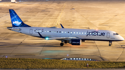 A picture of N279JB - Embraer E190AR - JetBlue Airways - © Davin Amy