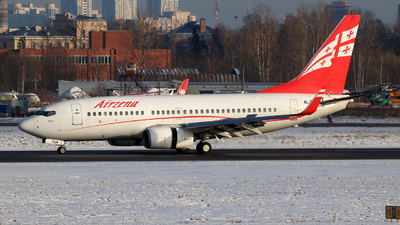 4L-TGN - Boeing 737-7BK - Georgian Airways (AirZena)