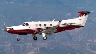 N774DK - Pilatus PC-12/45 - Private