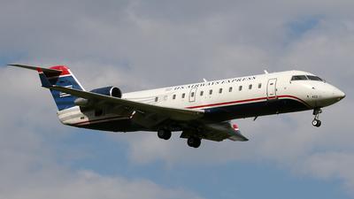 A picture of N422AW - Mitsubishi CRJ200ER - [7341] - © Jukka Hemilä