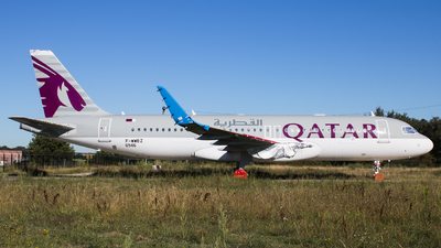 F-WWBZ - Airbus A320-271N - Qatar Airways