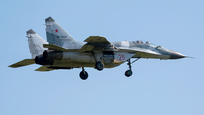RF-92937 - Mikoyan-Gurevich MiG-29SMT Fulcrum C - Russia - Air Force