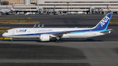 A picture of JA871A - Boeing 7879 Dreamliner - All Nippon Airways - © hiktas