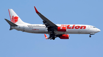 HS-LUI - Boeing 737-8GP - Thai Lion Air