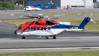 A picture of LNOQM - Sikorsky S92A - CHC Helikopter Service - © Richard Toft