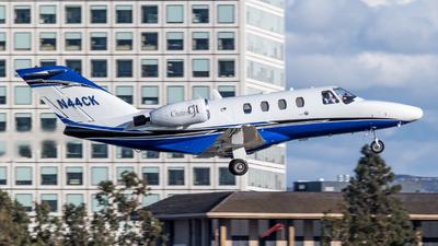 N44CK - Cessna 525 CitationJet 1 - Private