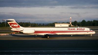 N950U - McDonnell Douglas MD-82 - Trans World Airlines (TWA)
