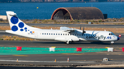 A picture of ECMUJ - ATR 72500 - CanaryFly - © Pablo Gonzalez de Leon