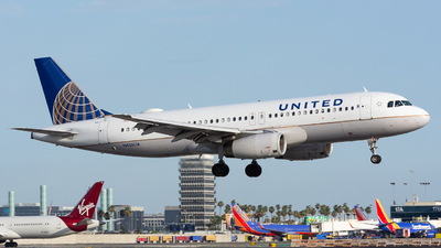 N436UA - Airbus A320-232 - United Airlines