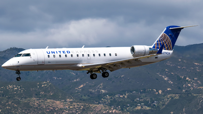 A picture of N479CA - Mitsubishi CRJ200LR - United Airlines - © Ricky Teteris