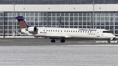A picture of DACNI - Mitsubishi CRJ900LR - Lufthansa - © Domi Einert