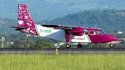 TI-BGK - Britten-Norman BN-2A-8 Islander - CostaRica Green Airways