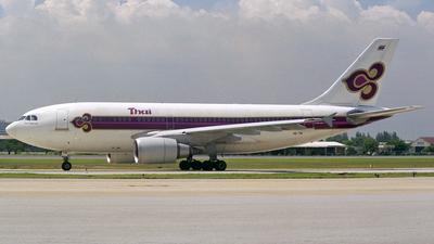 HS-TIA - Airbus A310-204 - Thai Airways International