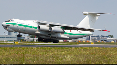 7T-WIU - Ilyushin IL-76TD - Algeria - Air Force