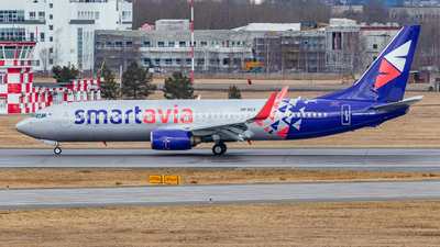 A picture of VPBEV - Boeing 73789P - Smartavia - © yansnsyrbo