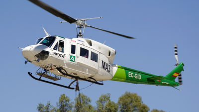 EC-GID - Bell 212 - Babcock MCS Spain