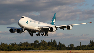 N5022E - Boeing 747-867F - Cathay Pacific Cargo