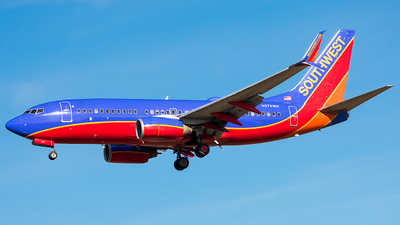 A picture of N279WN - Boeing 7377H4 - Southwest Airlines - © Jackson Smith