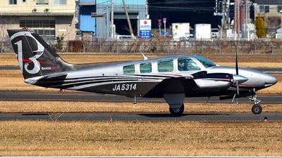 JA5314 - Beechcraft 58 Baron - Private