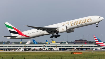 A6-ECT - Boeing 777-31HER - Emirates