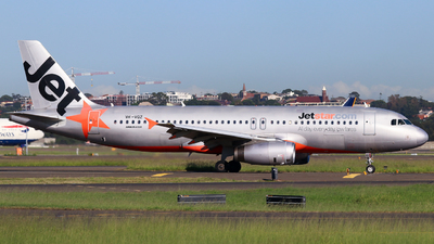 A picture of VHVQZ - Airbus A320232 - Jetstar Airways - © Robbie Mathieson