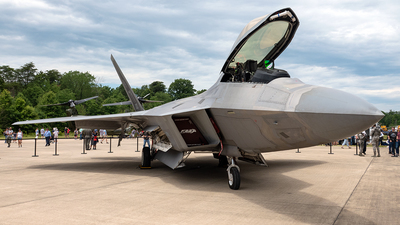 05-4100 - Lockheed Martin F-22A Raptor - United States - US Air Force (USAF)