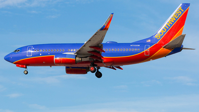 N703SW - Boeing 737-7H4 - Southwest Airlines