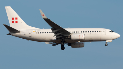 D-AWBB - Boeing 737-7CN(BBJ) - PrivatAir Germany