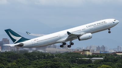 B-LAQ - Airbus A330-343 - Cathay Pacific Airways