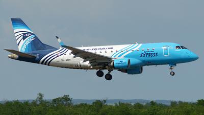SU-GDH - Embraer 170-100LR - EgyptAir Express