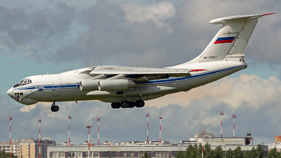 RF-76327 - Ilyushin IL-76MD - Russia - Federal Border Guards Aviation Command