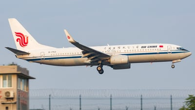 A picture of B1763 - Boeing 73789L - Air China - © 好想吃火锅