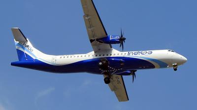 A picture of VTIYC - ATR 72600 - IndiGo - © Vijay Sak