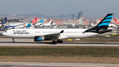 5A-ONR - Airbus A330-302 - Afriqiyah Airways