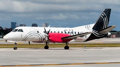 N328AG - Saab 340B - Silver Airways