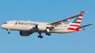 N871AY - Boeing 787-8 Dreamliner - American Airlines